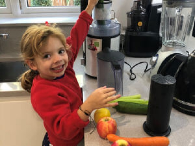 Making healthy juices