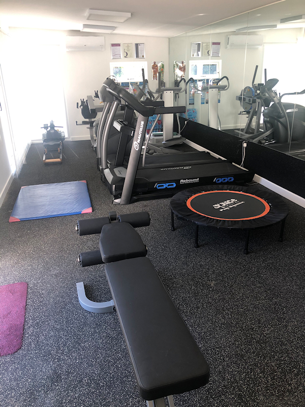 Fully air conditioned gym