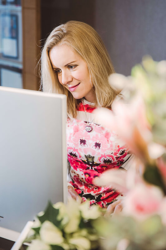 Davinia Online Coaching with clients